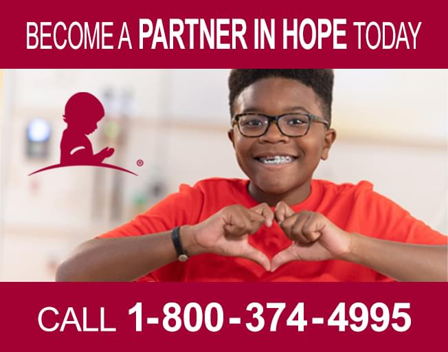 Support St. Jude and Become a Partner in Hope