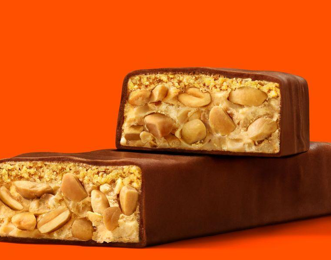 Reese's Has A New Peanut Butter Crunchy Bar That's Rolling Out This Month