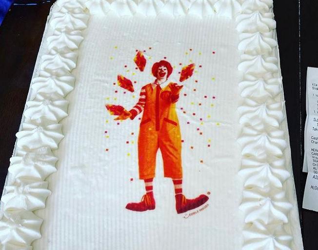 McDonald's Sells Birthday Sheet Cakes?!