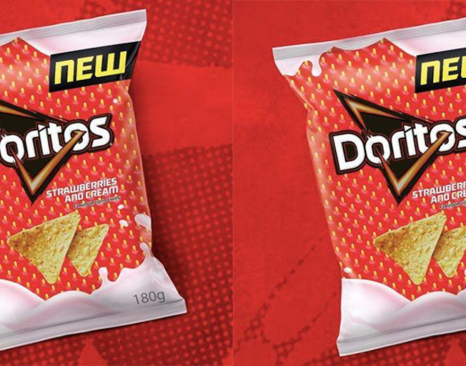 Doritos Has Launched a Strawberries and Cream Flavor