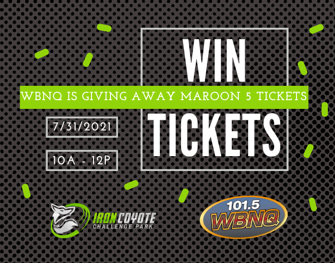 Ticket Stop: Win Maroon 5 Tickets