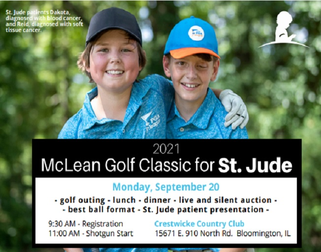 42nd Annual McLean County Golf Classic for St. Jude
