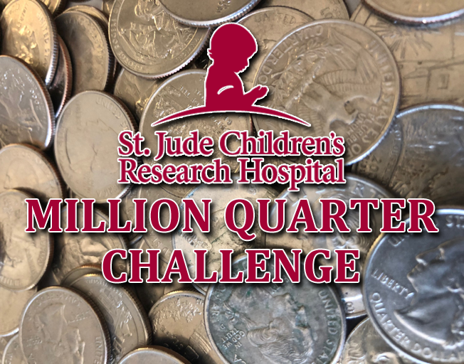 It's Time For the St. Jude Million Quarter Challenge