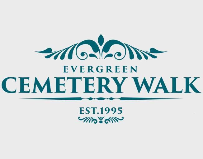 Evergreen Cemetery Walk in Bloomington