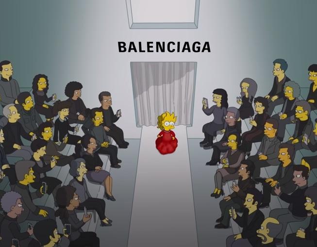 So Many Celbs in Simpsons' Balenciaga Special
