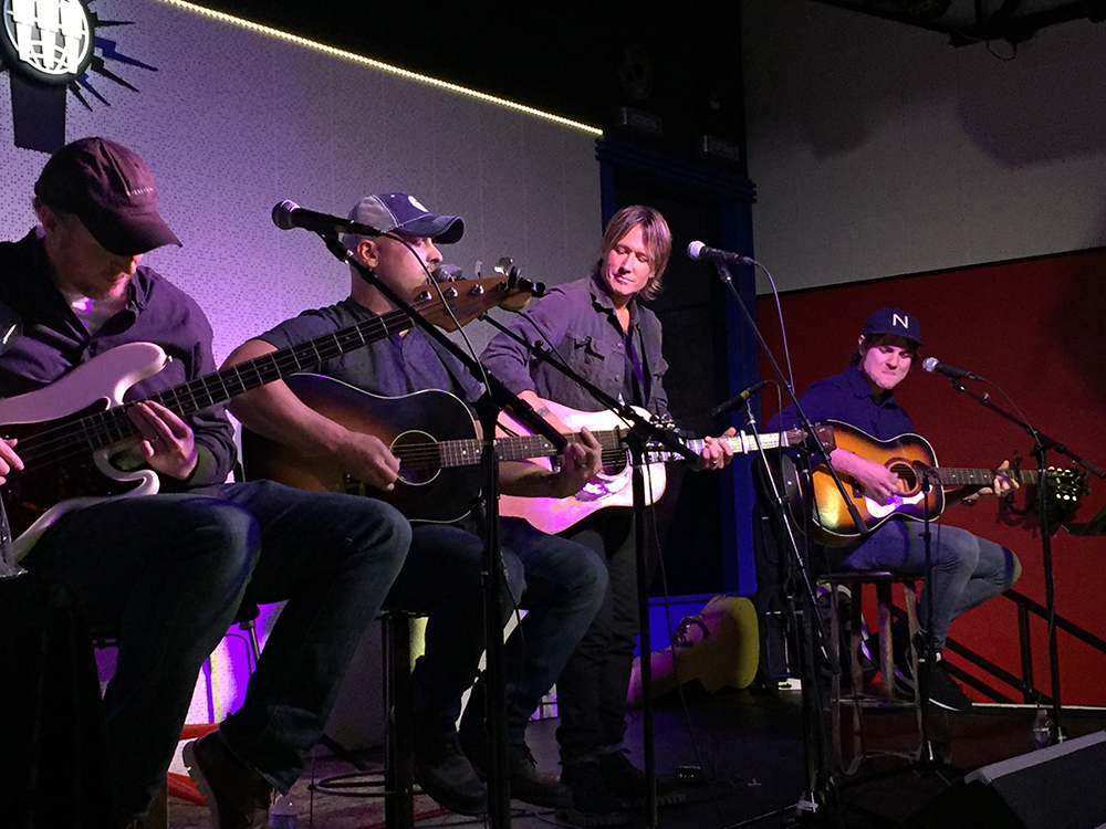 "Keith Urban Celebrates No. 1 Single, ""Break On Me,"" With Nashville Shindig"