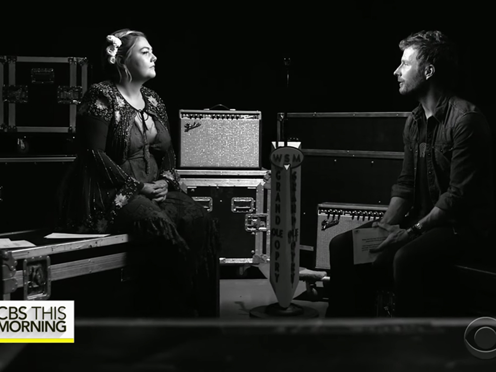"""Dierks Bentley and Elle King Share """"Something in Common"""" for CBS Video Series"""