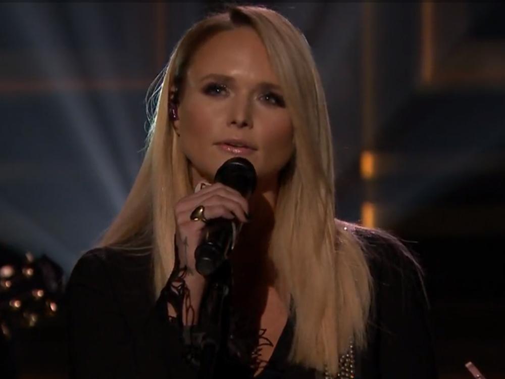 "Watch Miranda Lambert's Emotional Performance of ""Vice"" on ""The Tonight Show With Jimmy Fallon"""