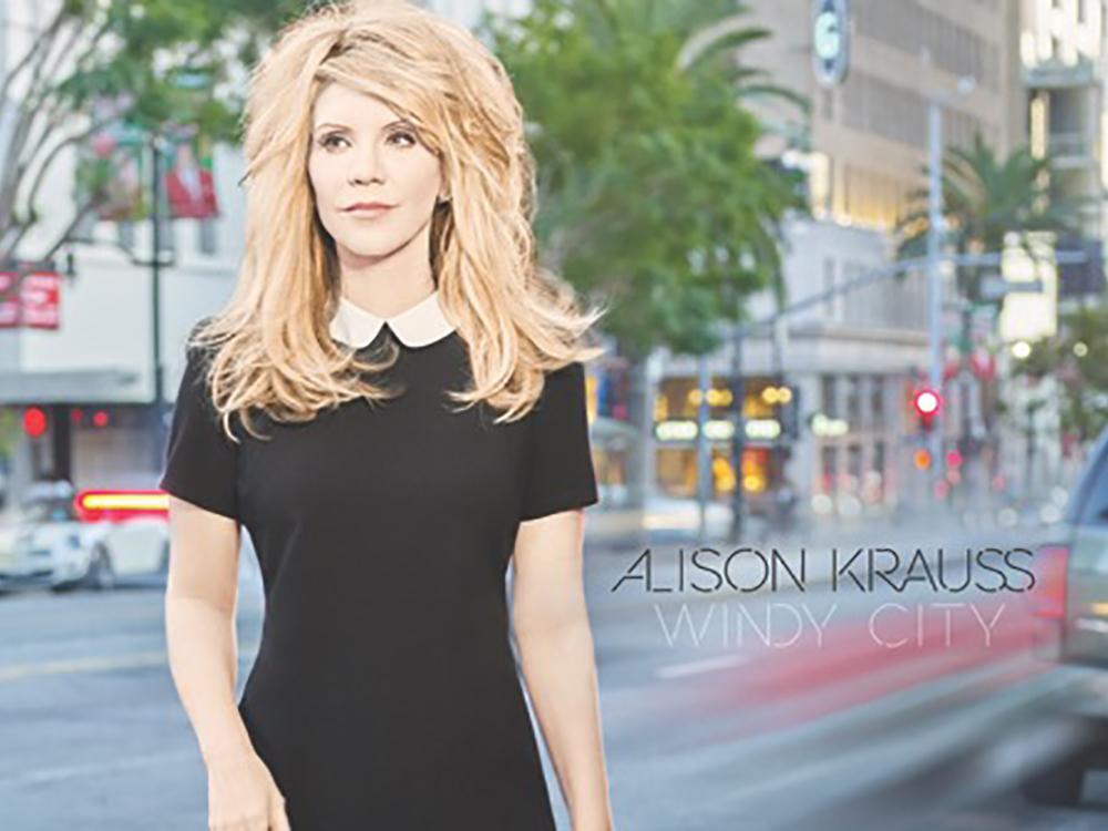 "Alison Krauss Soars to No. 1 on Billboard's Country and Bluegrass Charts With ""Windy City"""