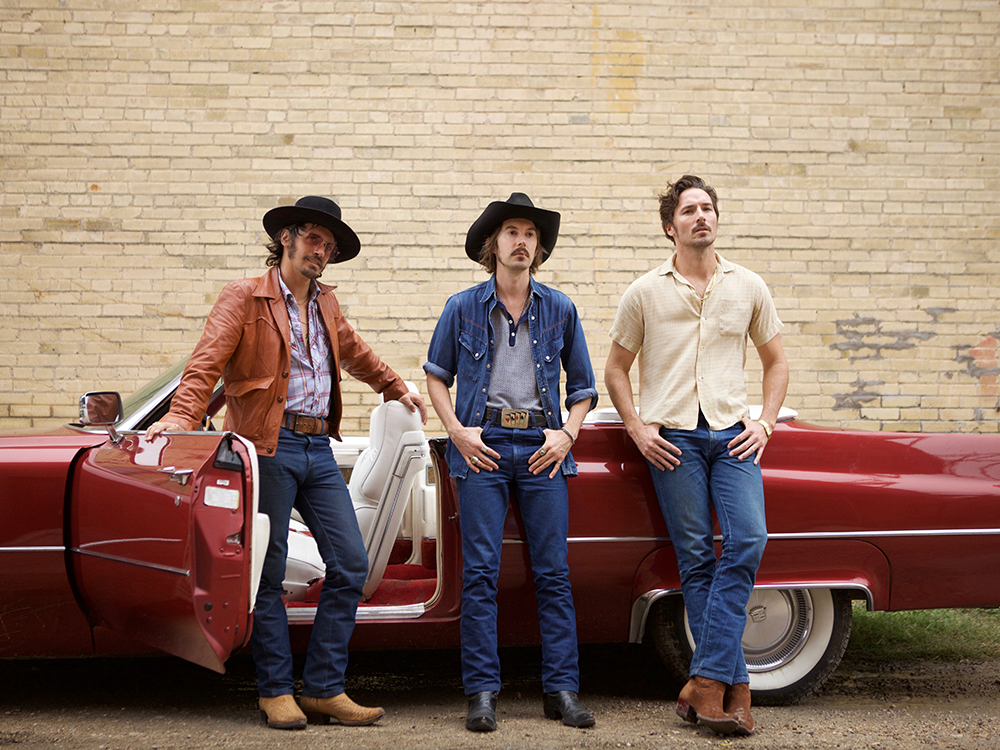 """Country's Hippest New Trio, Midland, Reveals Lawbreaking New Video for """"Drinkin' Problem"""""""