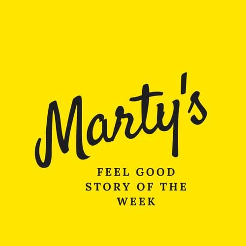 Marty's Feel Good Story Of The Week- Jump On In