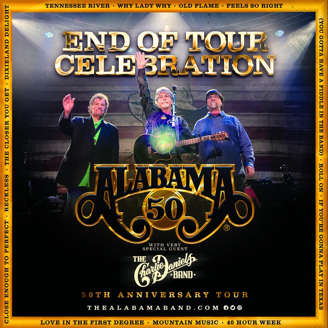 Alabama – 50th Anniversary Tour