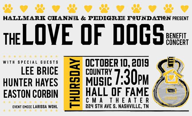 PEDIGREE Foundation – The Love of Dogs Benefit Concert
