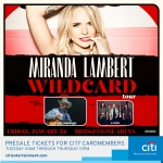 """Miranda Lambert's """"Wildcard Tour"""" 2020"""