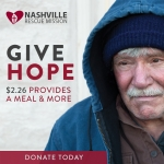 Give to the Nashville Rescue Mission