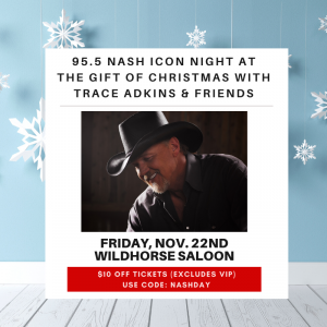 ICON Night at The Gift of Christmas with Trace Adkins & Friends!