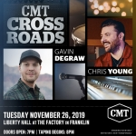 Chris Young – CMT Crossroads Taping