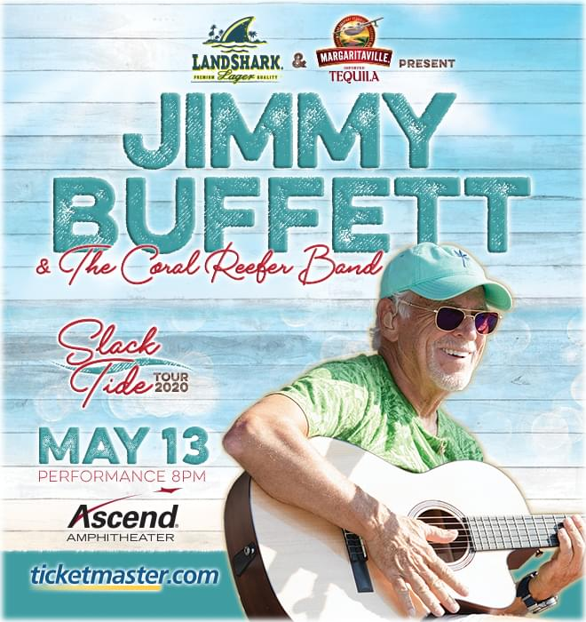 Jimmy Buffett & The Coral Reefers Band at Ascend Amphitheater
