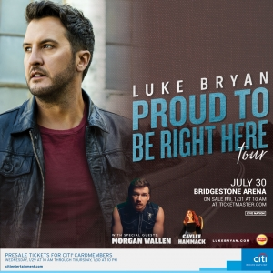 """Luke Bryan's """"Proud To Be Right Here"""" Tour"""