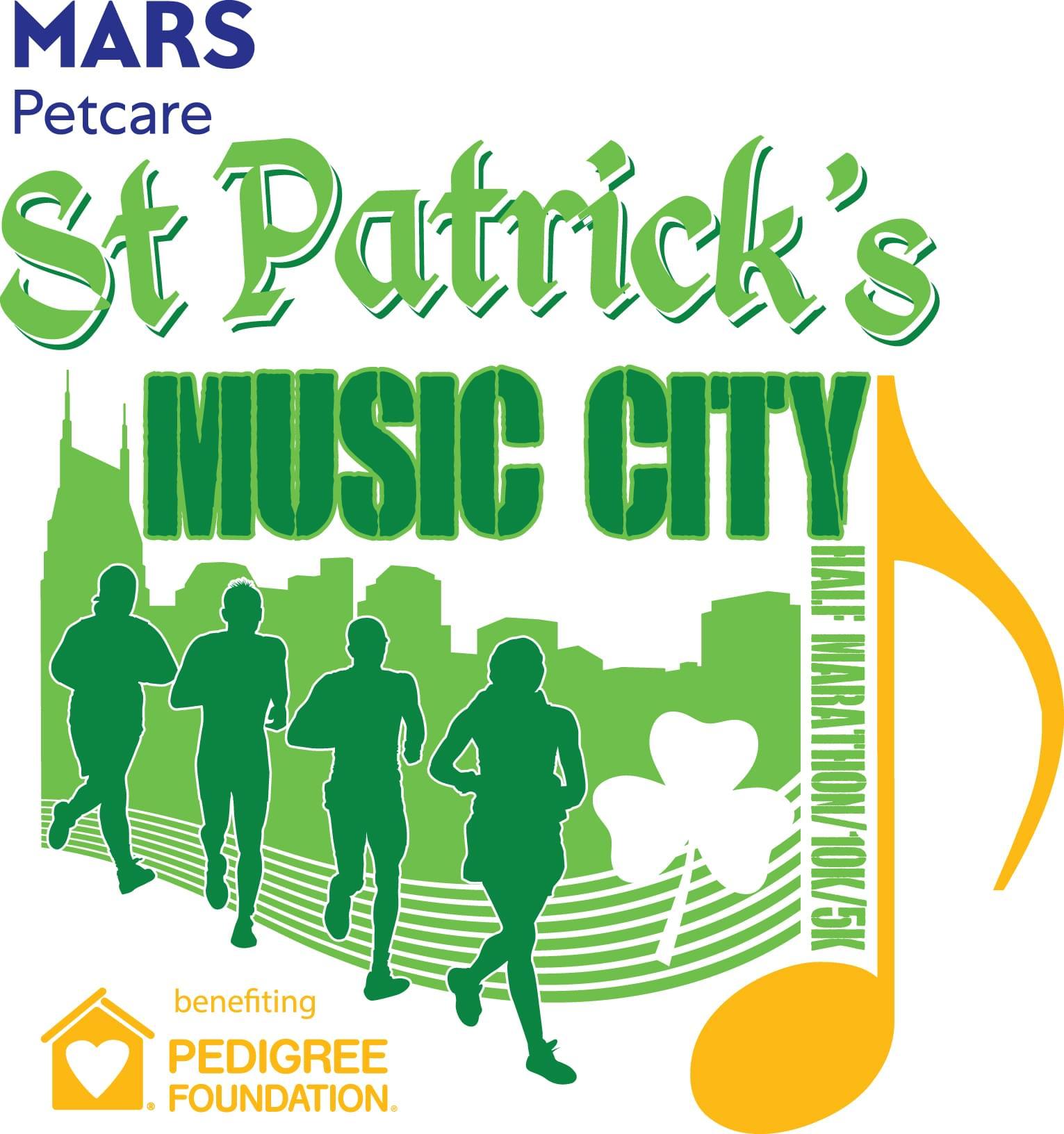 Mars Petcare St. Patrick's Music City Half, 10k, 5k, & 1 Mile