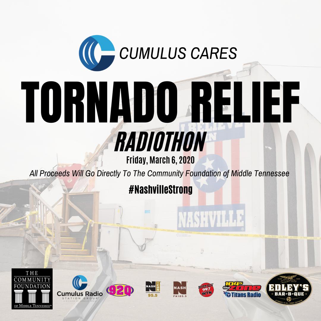 Tornado Relief Radiothon – Donate Now