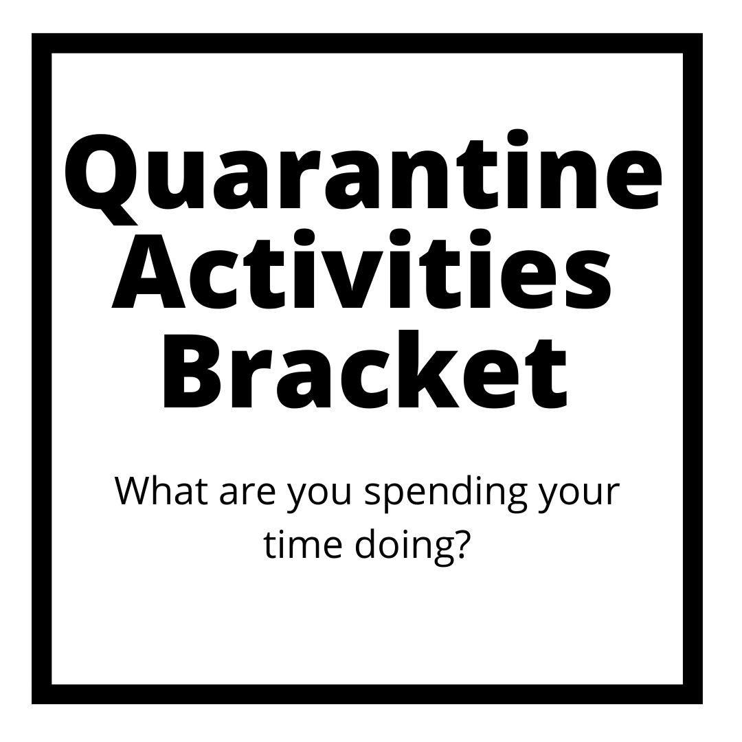 Quarantine Activities – What Are You Spending Your Time Doing?