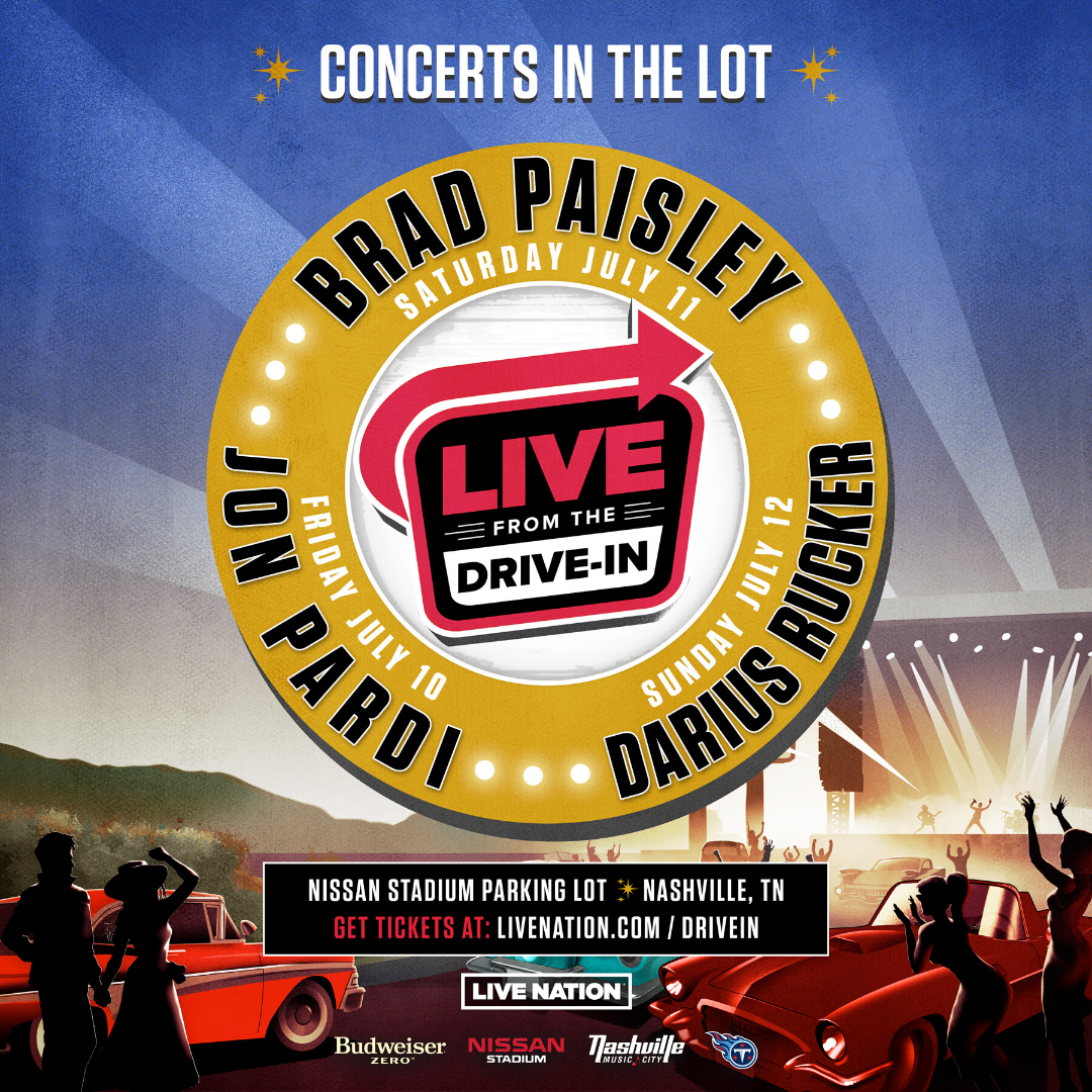 Live From The Drive-In – Nissan Stadium