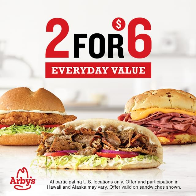 Win Free Lunch from Arby's