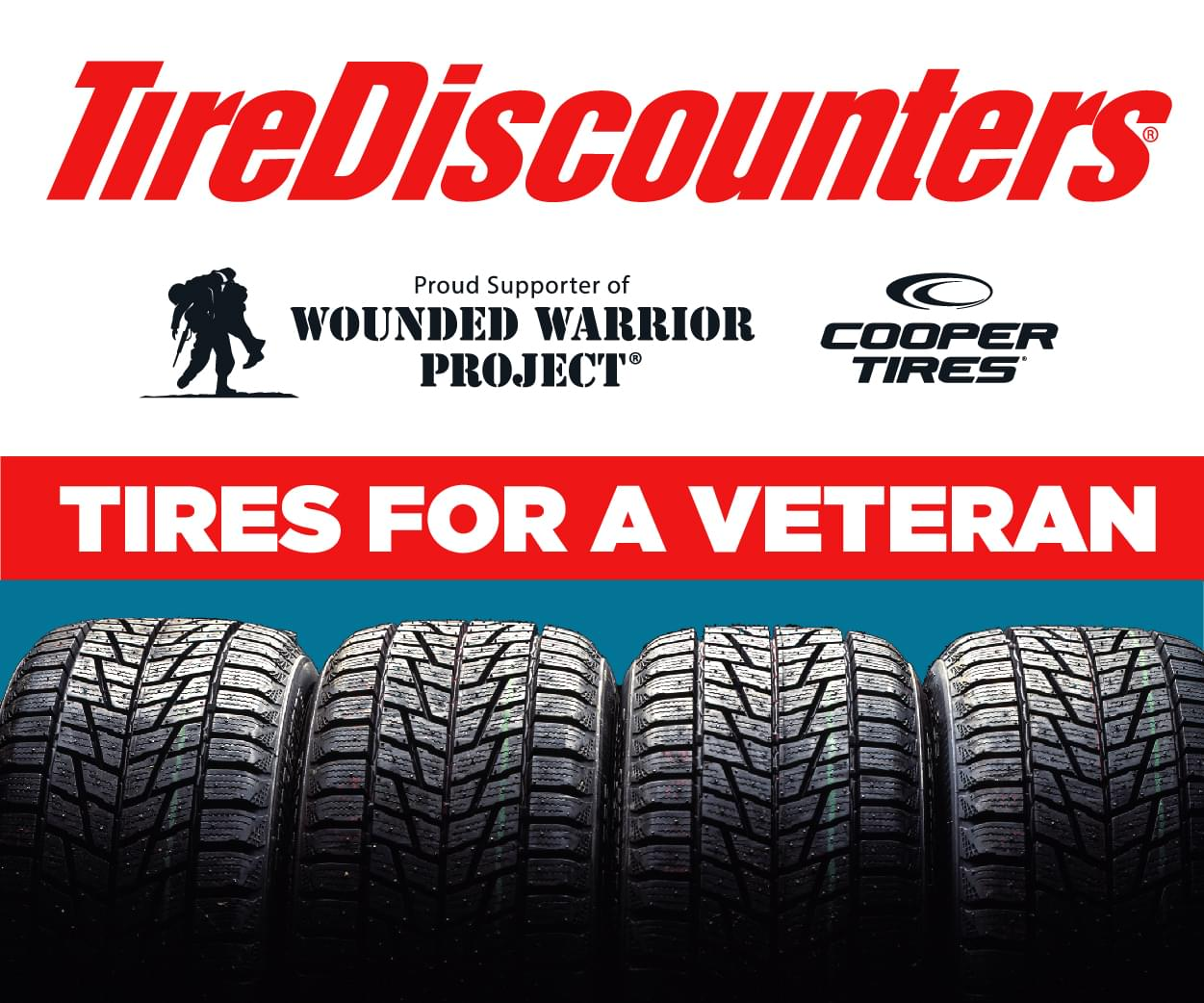 Nominate A Local Veteran to Win from Tire Discounters!