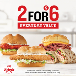 Win Lunch from Arby's