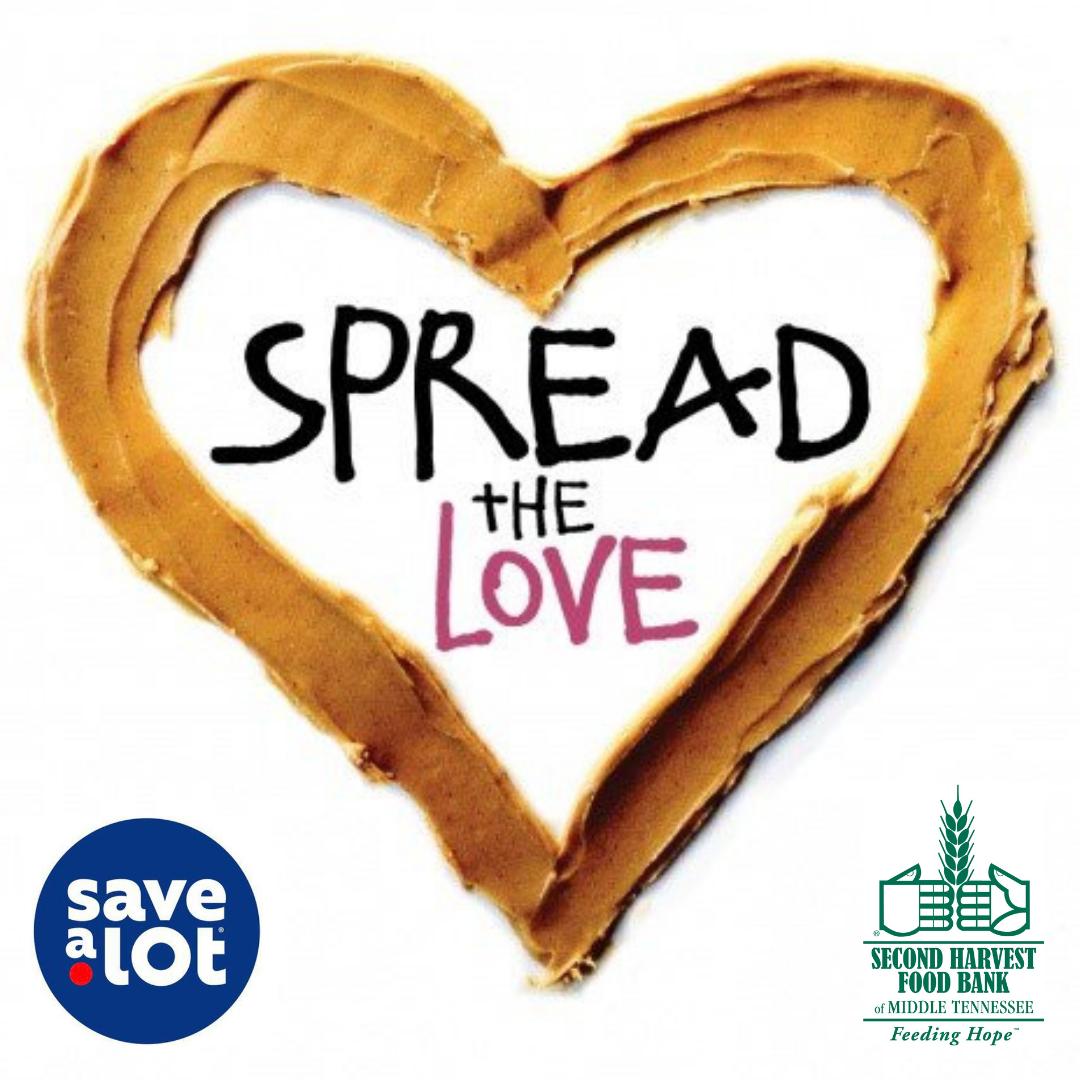 Spread The Love Drive-Thru Food Drive