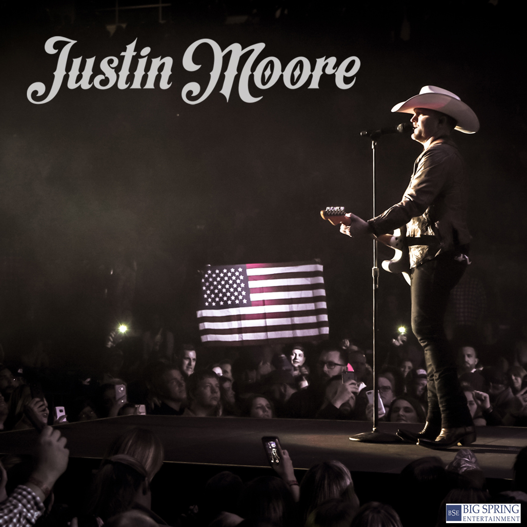 Just Announced: Justin Moore at Hop Springs