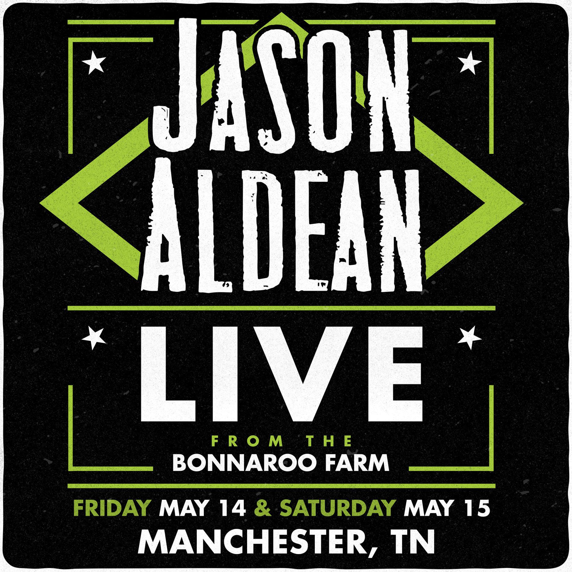 See Superstar Jason Aldean!