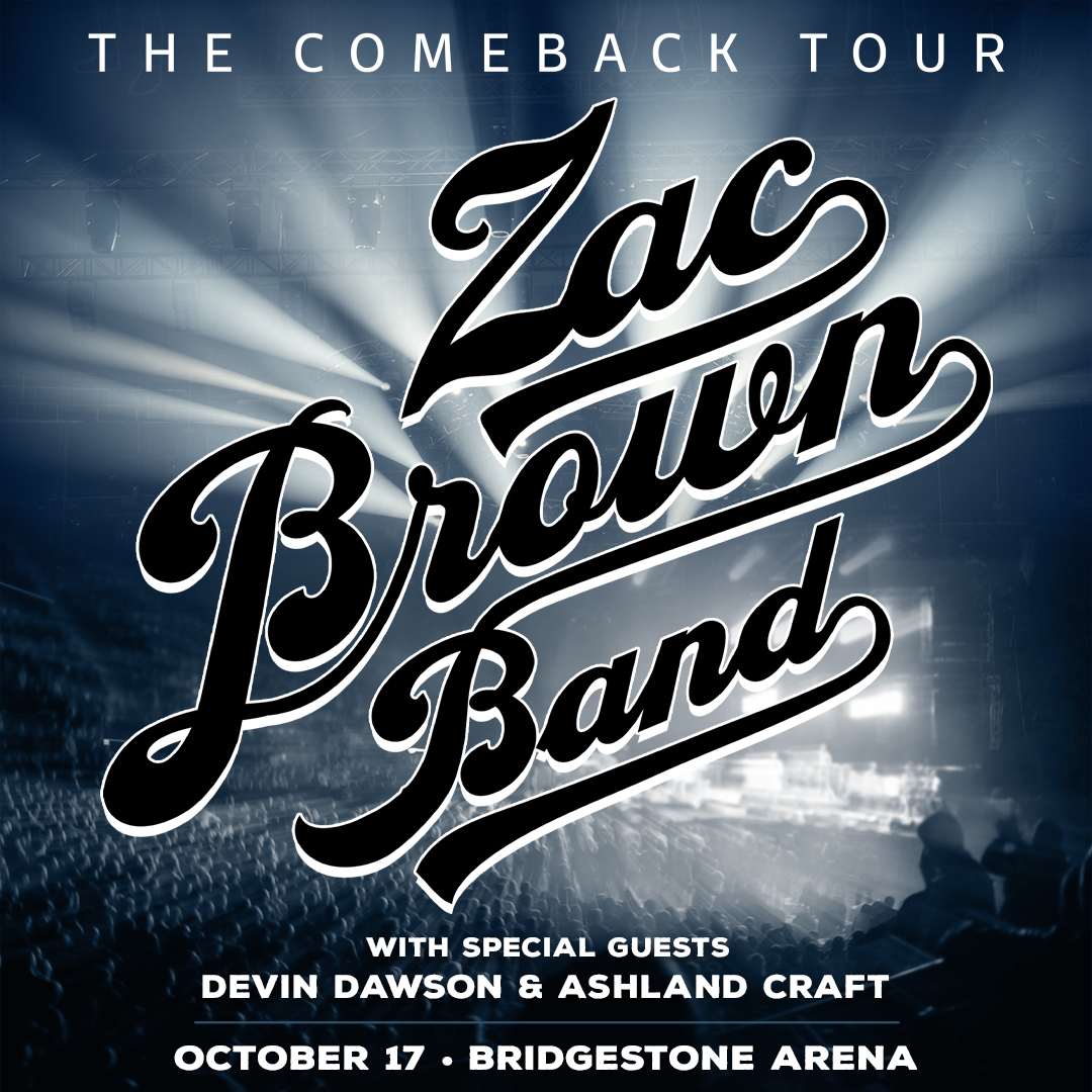 """Just Announced: Zac Brown Band's """"The Comeback Tour"""" 2021"""