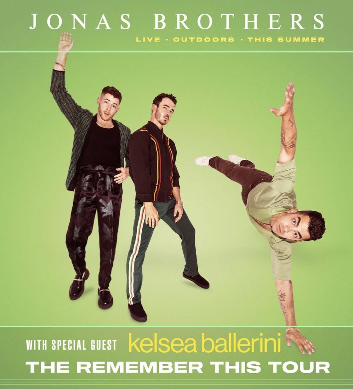 Kelsea Ballerini w. Jonas Brothers at FirstBank Amphitheater!