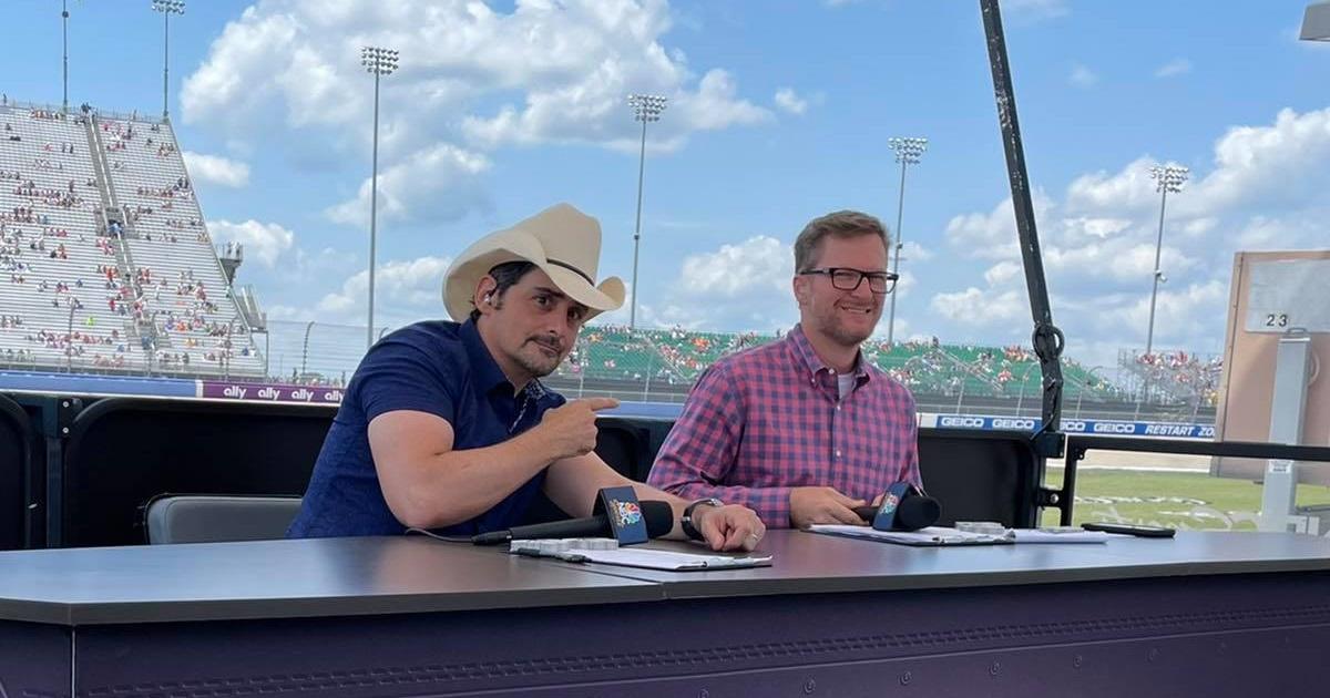 Brad Paisley & Dale Jr. Get The City Of Music Revved Up For NASCAR