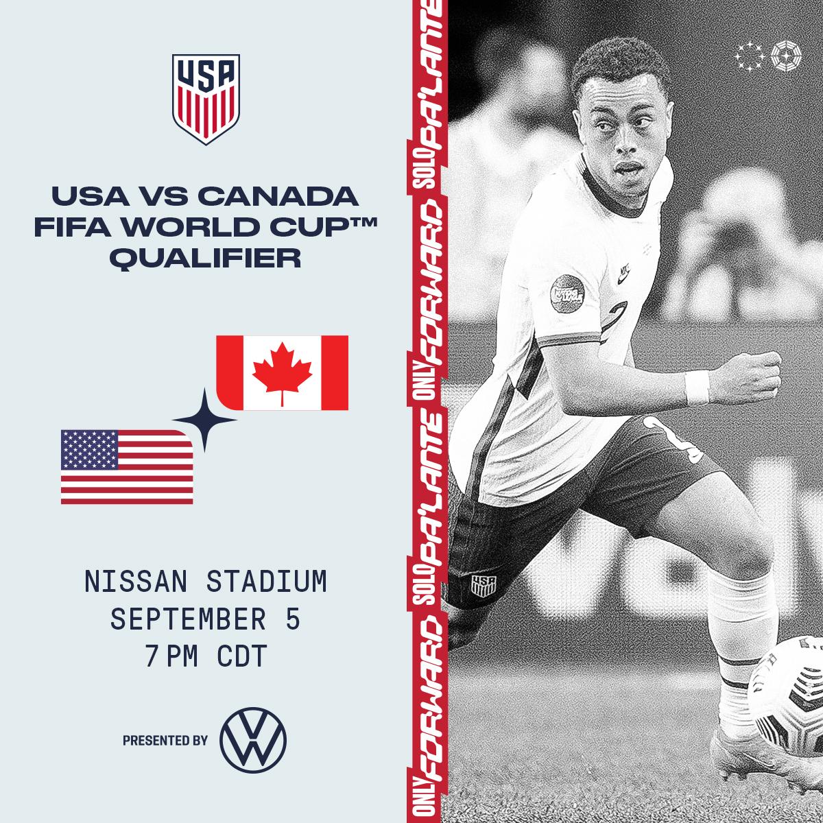 USMNT vs Canada