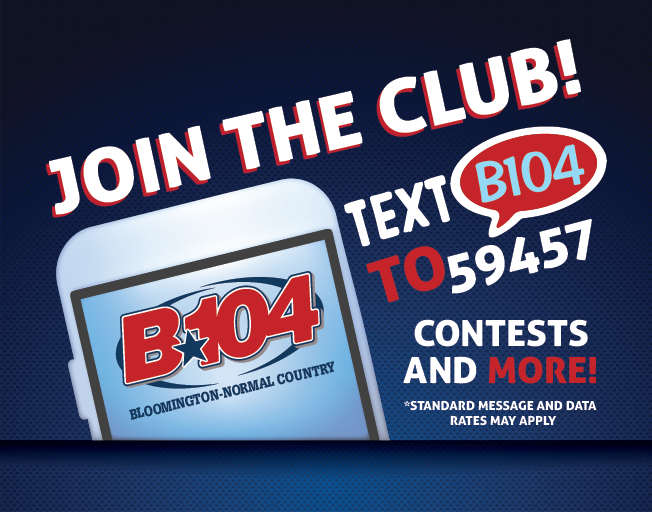 Join The B104 Text Club