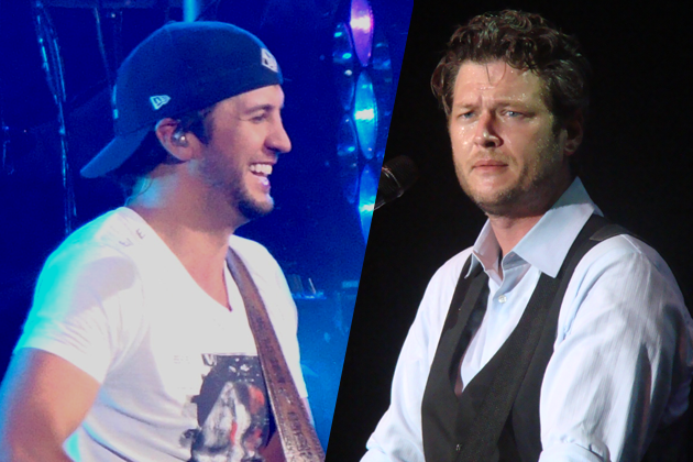 """Luke Bryan Vows to """"Deface The Hell"""" Out of Blake Shelton T-Shirt [VIDEO]"""
