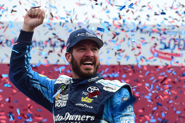 Martin Truex Jr. starts NASCAR Round of 12 with a Win at Charlotte [VIDEO, PHOTOS]