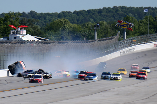"""NASCAR Chase Grid Drivers fear the """"Big One"""" at Talladega"""