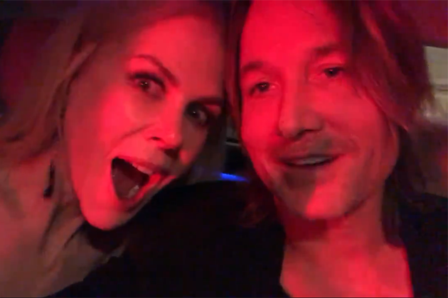 """Keith Urban posts """"Thank You"""" Video for AMA Wins"""