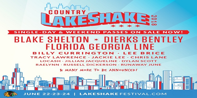 Country LakeShake Lineup 2018