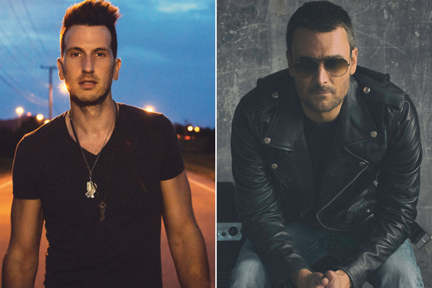 Russell Dickerson joins Eric Church in a Number One Week