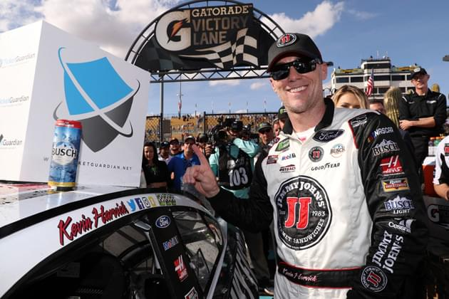 Three in a Row for #4 and 40 in NASCAR for Harvick at ISM Raceway [VIDEO, PHOTOS]