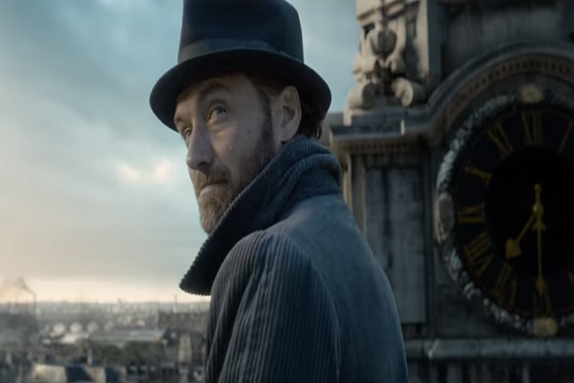 [WATCH] Jude Law Makes Debut As Young Dumbledore In New 'Fantastic Beasts' Trailer