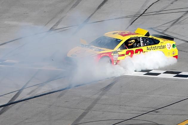 Joey Logano Scores First 2018 NASCAR Win at Talladega [VIDEO, PHOTOS]