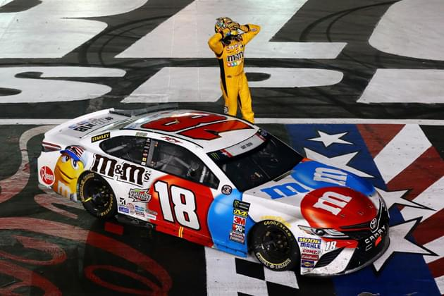 Relive Kyle Busch's Historic NASCAR Coca-Cola 600 Win [VIDEO, PHOTOS]