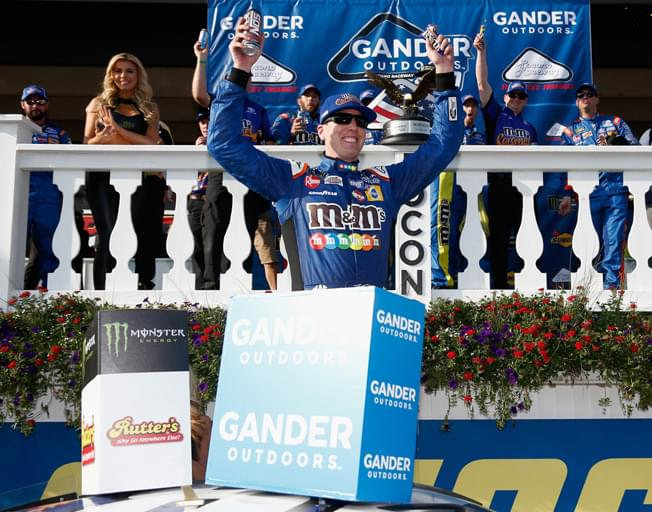 Kyle Busch Wins NASCAR Race at Pocono [VIDEO]