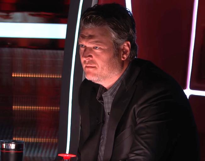Blake Shelton on 'The Voice Season 15'.